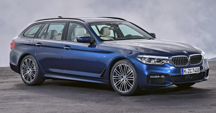 New 2017 BMW 5-Series Touring Is A Suave Load Lugger #BMW #BMW_5_Series