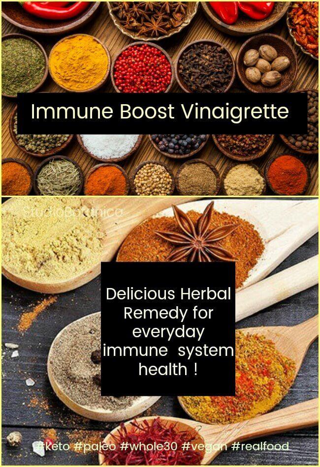 Your Template for Immune Boost Vinaigrette