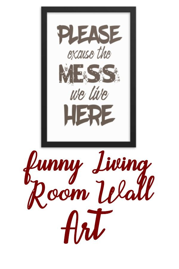 Funny Dining Living Family Room Printable Wall Art Quote