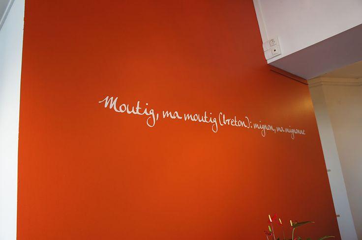 la Boutik Moutig - Epicerie fine à Concarneau Aménagement Souffle d'intérieur avec la collaboration de Karine Blot