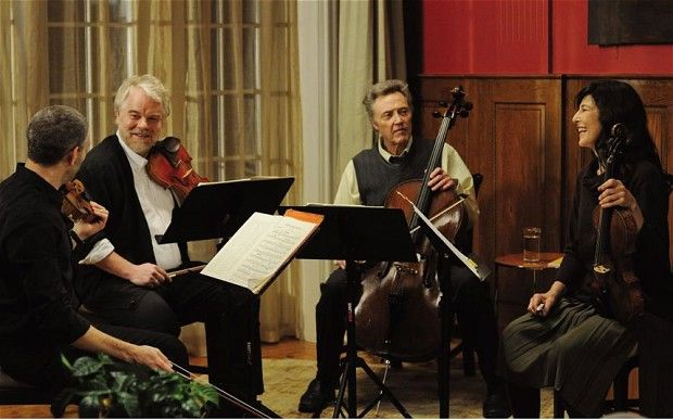 My review of A Late Quartet, with Christopher Walken, Philip Seymour Hoffman and Catherine Keener