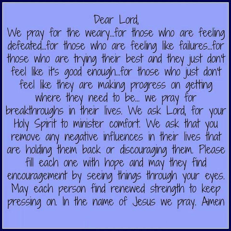 prayer for hope in hard times | Prayers | Pinterest