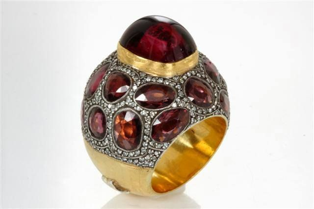 Sevan Bicakci The ripe pomegranate is a symbol of fertility, prosperity and immortality. As folklore has it, a mature pomegranate is typically broken on the doorstep of newlyweds to ensure the couple's success in life.