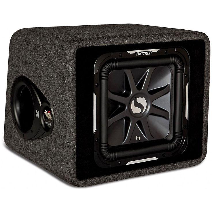 "KICKER 11VS12L7 12"" 1500W Loaded Car Audio Subwoofer Sub +Box L7 Solo Baric VS12"