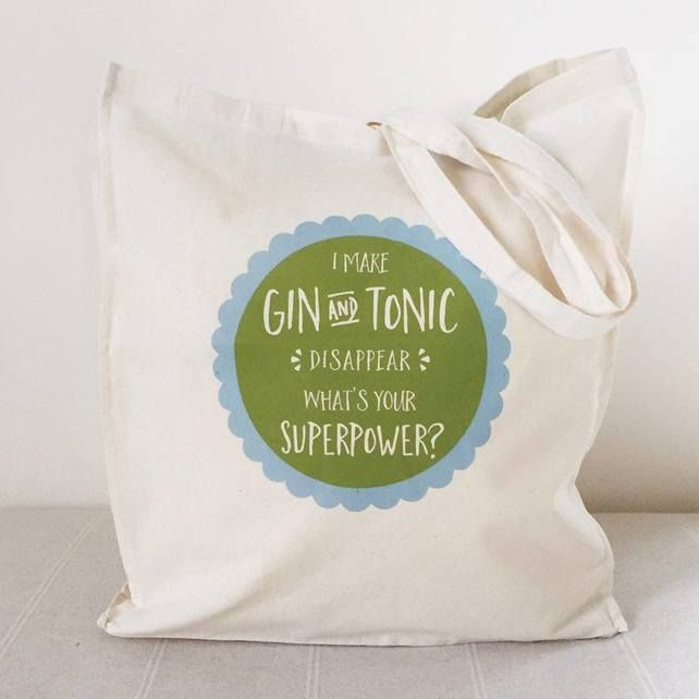 Superpowers Tote Bag