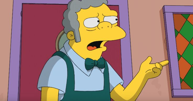 """""""I personally know how it feels when somebody comes and throws paper towels at you,"""" said bartender Moe Szyslak."""