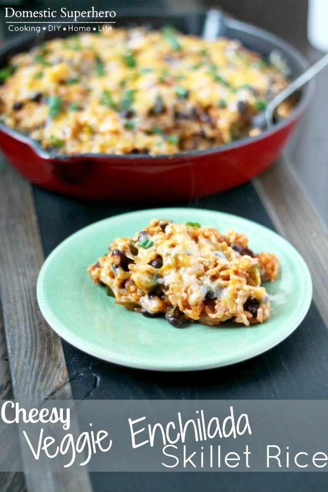 ... meatless Monday meals on Pinterest | Skillets, Spicy and Black beans