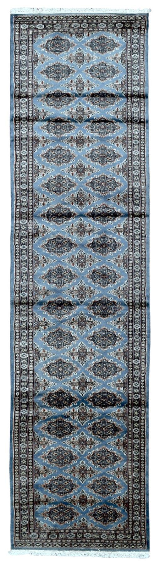 Pakistan Royal Bukhara Oriental Long Runner Rug 2'6X10'
