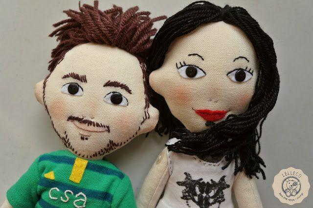 Lelleco Blog: pareja de muñecos personalizados