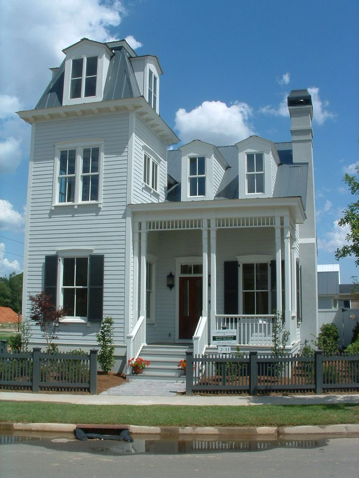 Best 25 tower house ideas on pinterest tiny house 3 for Second empire victorian house plans