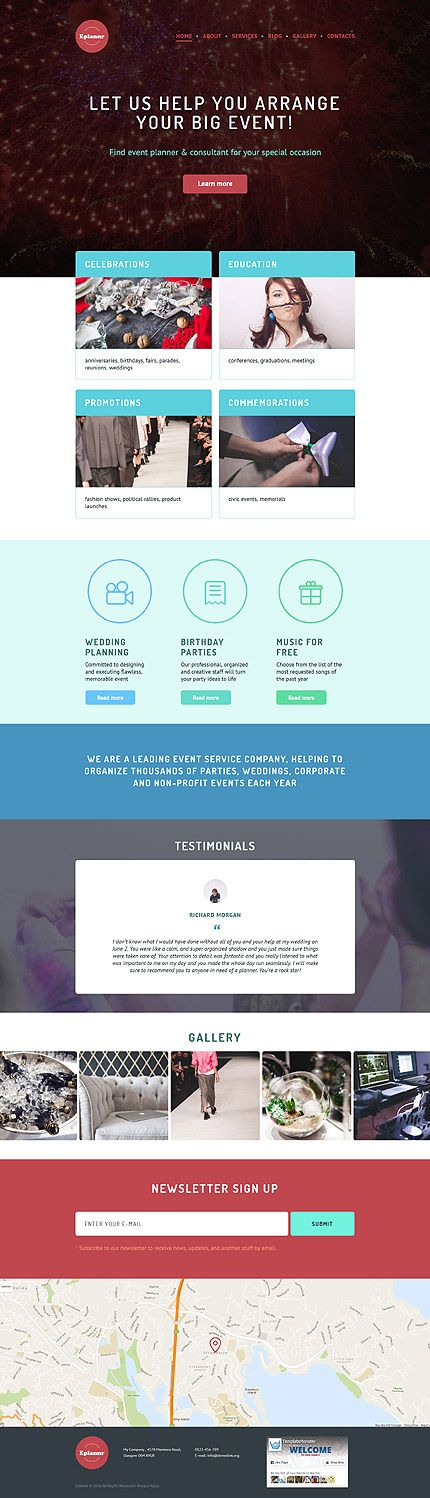 Entertainment website inspirations at your coffee break? Browse for more WordPress #templates! // Regular price: $75 // Sources available: .PSD, .PHP, This theme is widgetized #Entertainment #WordPress