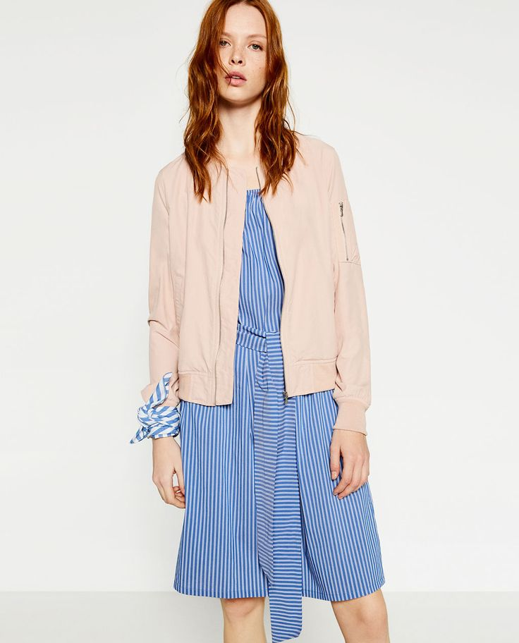 Image 2 of BOMBER JACKET from Zara