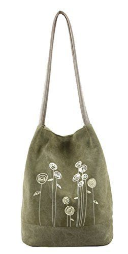 New Trending Shoulder Bags: Lonson Womens Shoulder Bag Handbags Canvas Weekend Shopping Tote Bag (Green). Lonson Women's Shoulder Bag Handbags Canvas Weekend Shopping Tote Bag (Green)   Special Offer: $15.99      244 Reviews In order to make every customer satisfaction, we strictly control every detail If there are any quality problems, we will give you a full refund Have any doubts,...