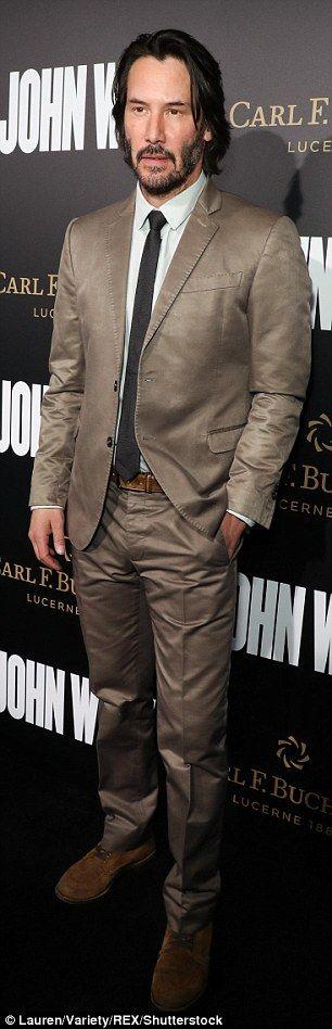 Keanu Reeves - 'John Wick Chapter 2' premiere in Los Angeles on January 30