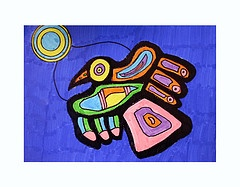 inspired by artist NORVAL MORRISSEAU