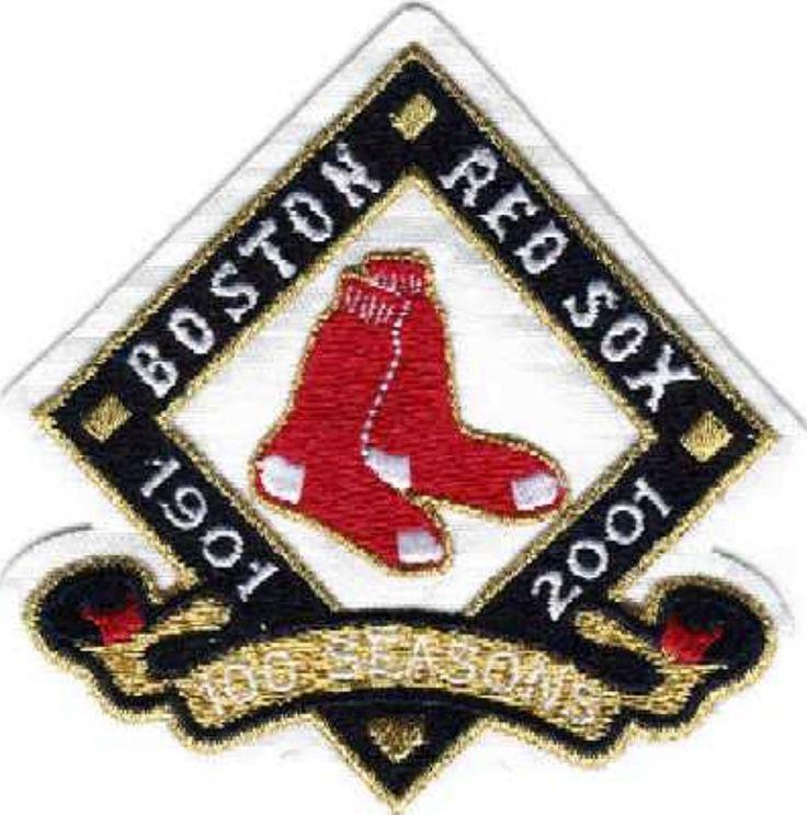Boston Red Sox 100th Anniversary Mlb logos, Vintage