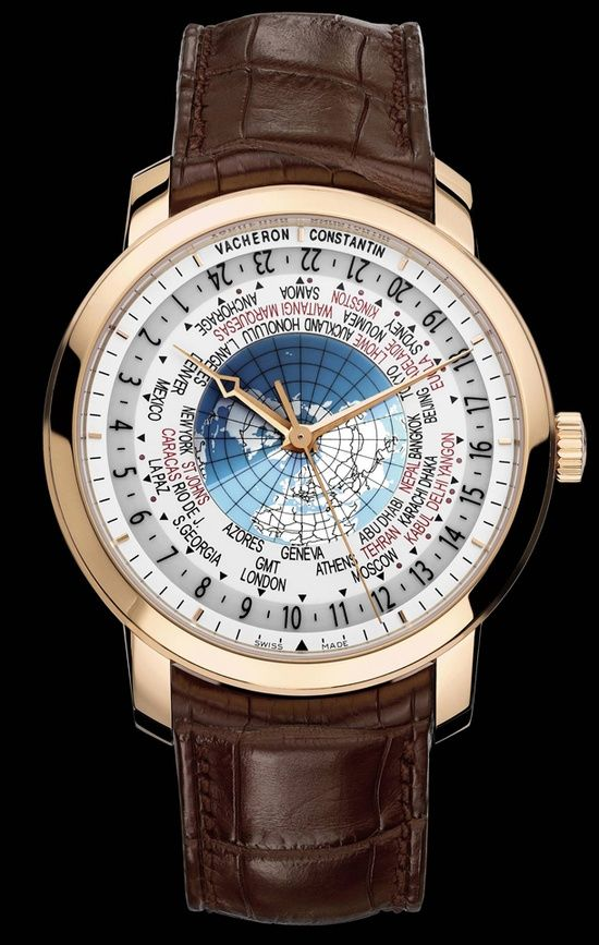 #Vacheron Constantin World Timer priced at USD 29,900.