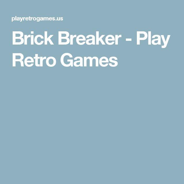 Brick Breaker - Play Retro Games