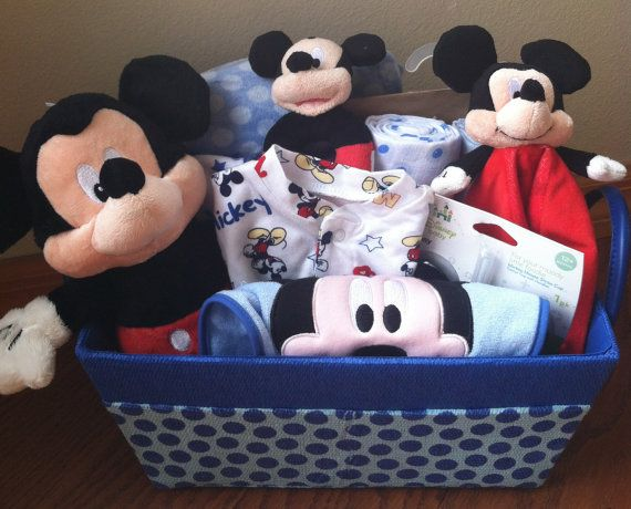 Mickey Mouse Baby Gift Basket For The Disney Baby Five