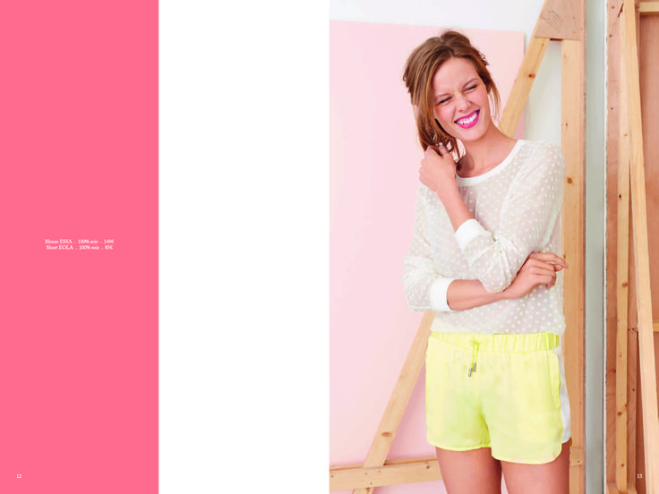 Page 7 - Look Book PE14 EKYOG #modepositive #green #spring #summer #collection2014