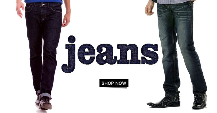 Find the perfect men's jeans fit and style we know you'll love. Pick from our latest collection. >>http://hytrend.com/men/clothing/jeans.html