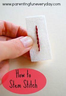 stem stitch tutorial