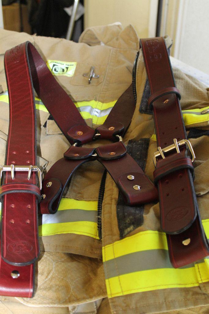 Leather Suspenders 2