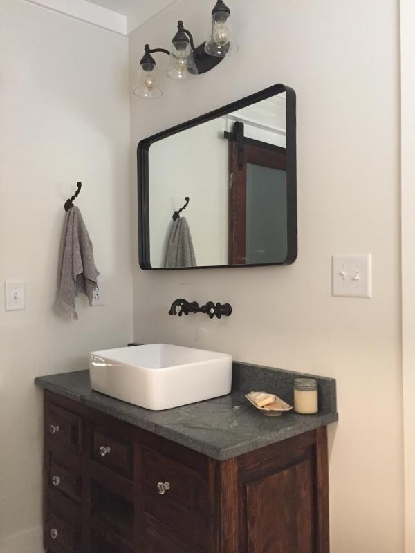 Halstad Mirror In 2020 Trumeau Mirror Bathroom Renovation