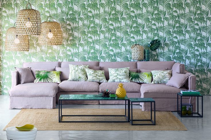 Fraîcheur, dépaysement, bien être... succomberez vous aussi à la décoration tropicale ?