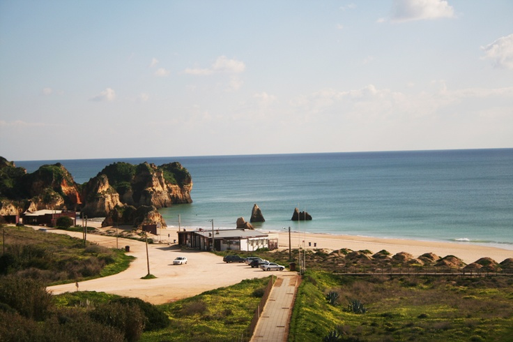 View of the beach near the Pestana Alvor Atlantico in Algarve Portugal