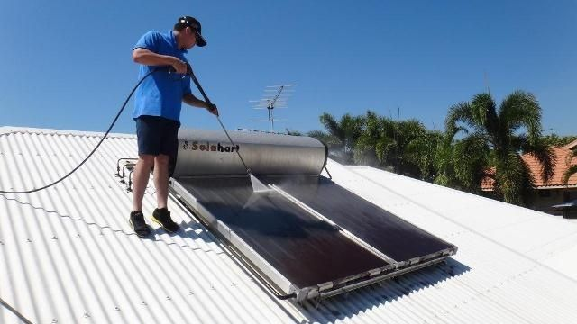 High pressure cleaning is an easy method to get rid of mould, moss, dirt and grime building up on your roof which will certainly obstruct the free flow of rain water in the gutter.