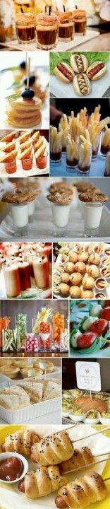 1920s Finger Food Ideas Mini appatizers
