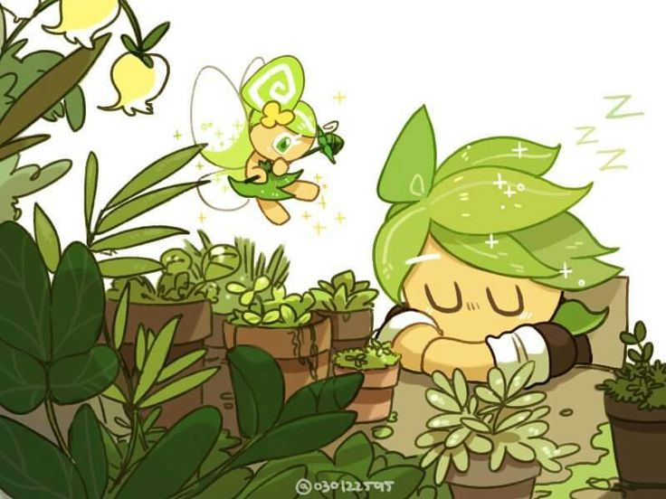 Herbal and Fairy Cookie (Likes Nature)