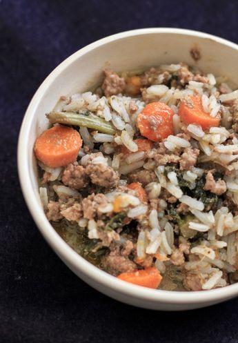 Homemade Dog Food Emily S Homestead Dog Food Recipes Make Dog