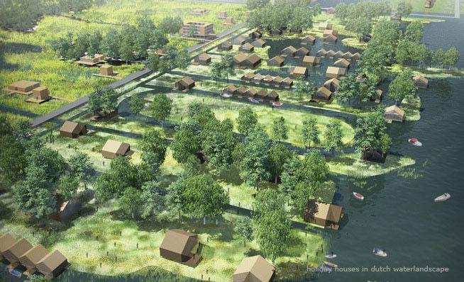 LOOS van VLIET - Architecten van Mourik and Witteveen + Bos. 'Dutch – Valley', Jinghai
