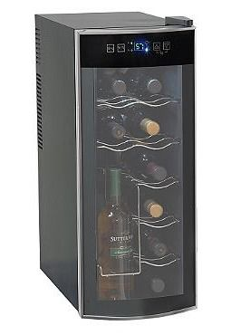This holiday season, make sure your favorite bottles of wine are perfectly chilled and ready to serve with the #Cavavin 12 Bottle Wine Cooler. #perfectentertaining #wine #bar #winecooler