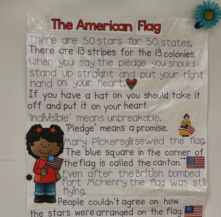 flag day for kindergarten
