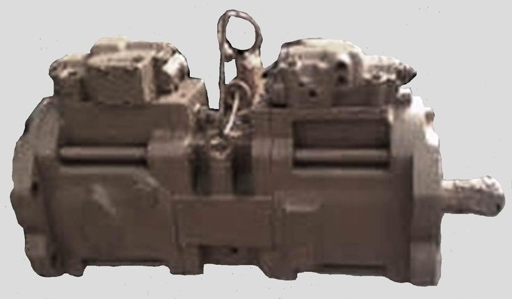 Case Excavator 9040B #162220A1 Hydraulic Pump Repair