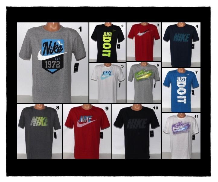 MEN'S NIKE T-SHIRTS SIZE SMALL, MEDIUM, LARGE, XL, 2XL NEW WITH TAGS #Nike #ShirtsTops