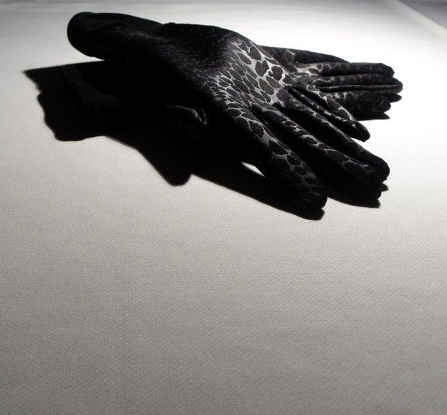 Rękawiczki czarne fakturowane <3 mw polski dizajn na MWpolskidizajn.DaWanda.com