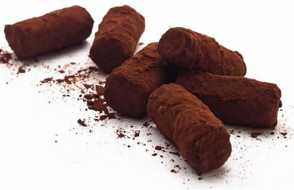 Belgian chocolate truffles are a popular dessert