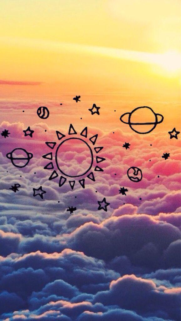 Ciel 🌈 / Zeichnen Planet (Tel) – #Ciel #Zeichnen # Planet #Planodefundo #Tel