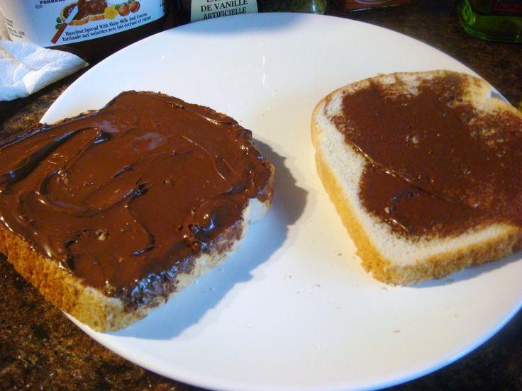 Nutella Stuffed French Toast!