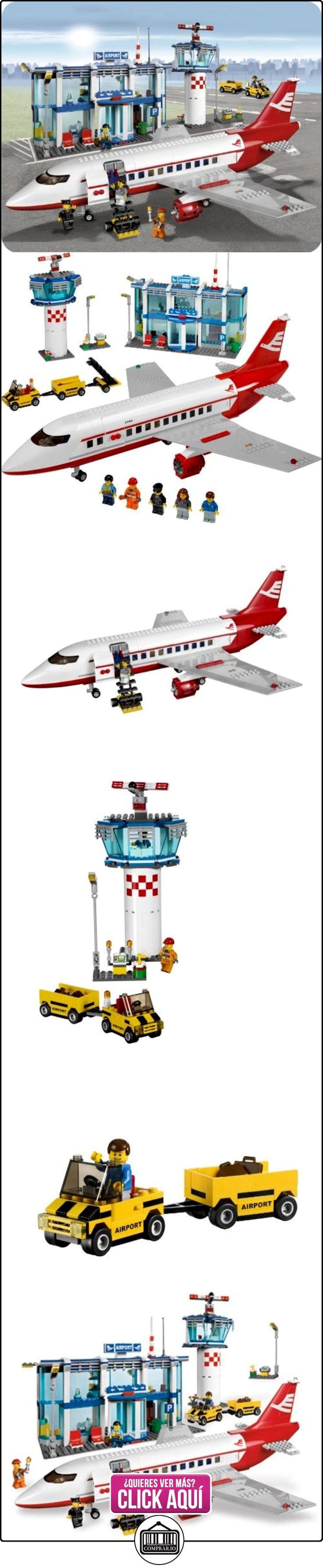 LEGO City - Aeropuerto (3182)  ✿ Lego - el surtido más amplio ✿ ▬► Ver oferta: https://comprar.io/goto/B002KCNVMA