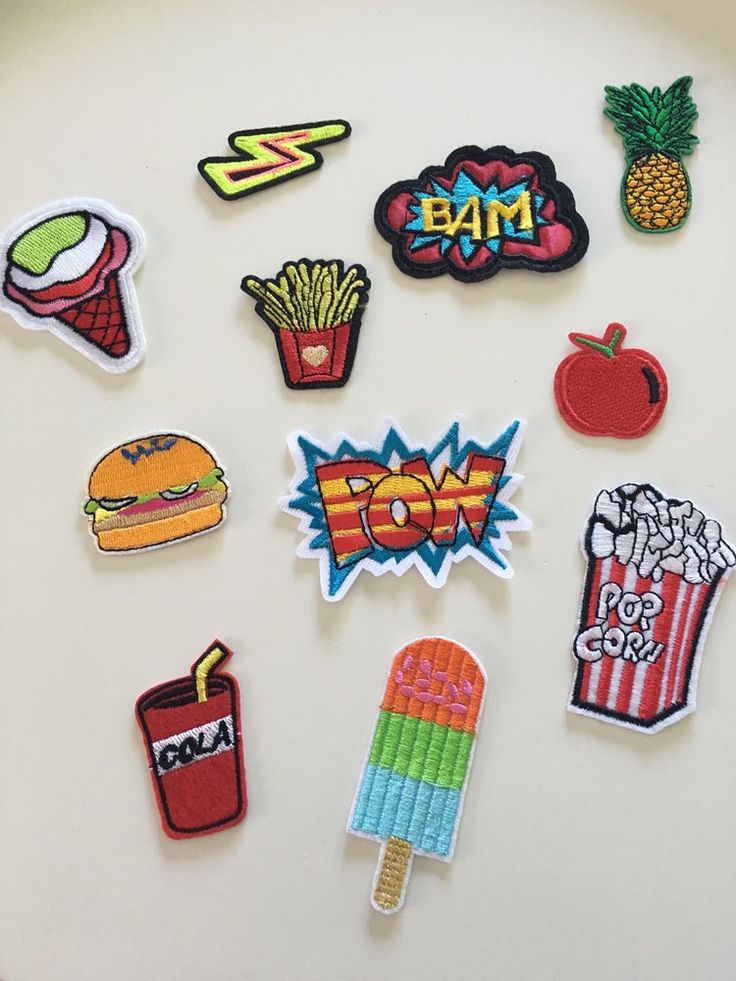 PACK Lot de 11 Ecusson Patch thermocollant FUN Custom comics