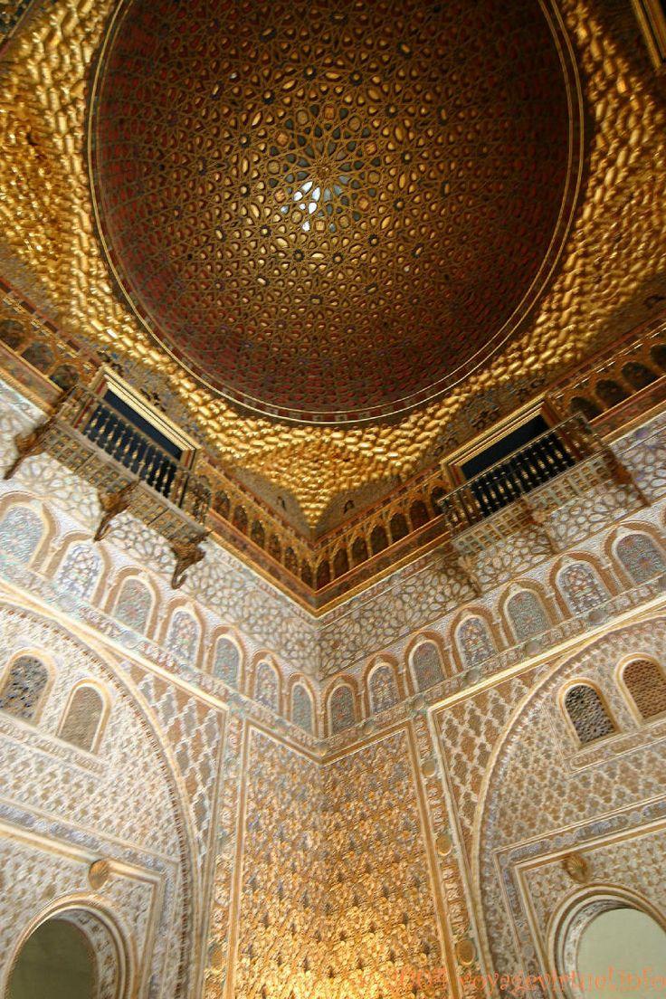 Dôme Salon de Embajadores, Sevilla Alcazar , España, Andalucia