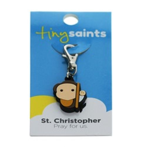 St. Christopher is the patron saint of sports. Boys could put this Tiny Saint Charm on their backpacks or gear bags. Tie it in with a bow on the gift wrapping as an extra little something.