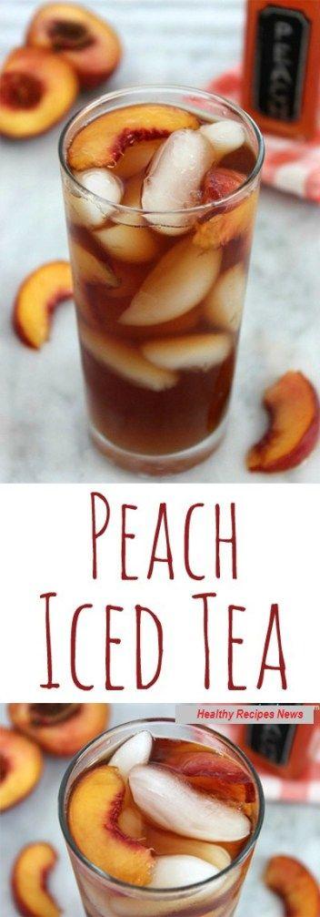 RECIPES -  PEACH ICED TEA