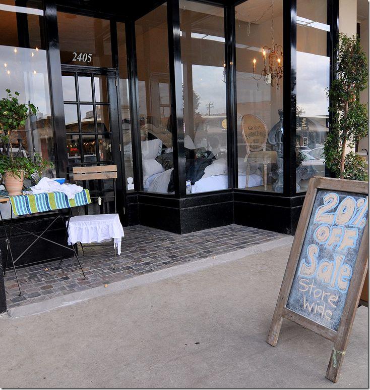 cote de texas feedbag decor at olivine - Slate Cafe Ideas