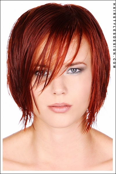 .Hair Colors, Shorts Hair, Red Hair, Shades Of Red, Cut And Colors, Hair Style, Medium Hairstyles, Shorts Cut, Chin Length Bobs